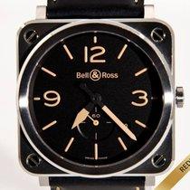 Bell & Ross BR S Stahl 39mm Schwarz Arabisch