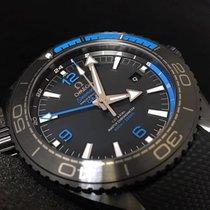 Omega Seamaster Planet Ocean Ceramic 45.5mm Black Arabic numerals Singapore, SINGAPORE