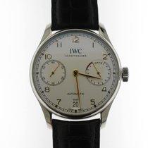 IWC Portuguese Automatic Steel 42mm White No numerals