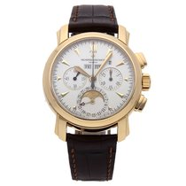 Vacheron Constantin Malte Yellow gold 39mm Silver No numerals United States of America, Pennsylvania, Bala Cynwyd