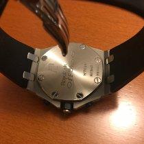 Audemars Piguet Royal Oak Offshore Chronograph Acciaio 42mm Nero Arabo Italia, scandicci firenze