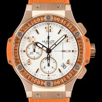 Hublot Chronograph 41mm Automatic pre-owned Big Bang Tutti Frutti White