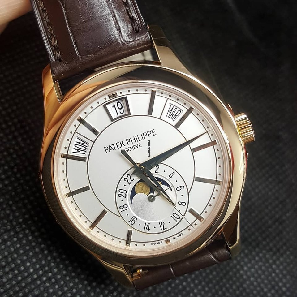 652db40b30b Patek Philippe NEW SA Complications 5205R-001 Rose Gold White... for ...