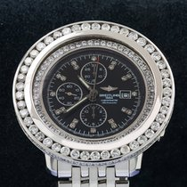 Breitling Navitimer World Steel 46mm Black No numerals United States of America, New York, NewYork
