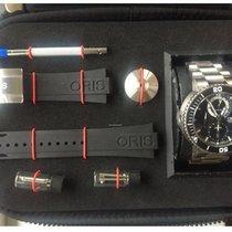 Oris Titan 46mm Automatisk 01 674 7655 718 brugt Danmark, Brabrand