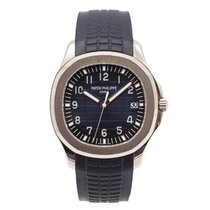 Patek Philippe 5168G-001 White gold 2017 Aquanaut 42mm pre-owned