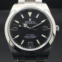 Rolex Explorer Acier 39mm Noir Arabes France, Paris