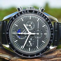 Omega Speedmaster Professional Moonwatch Moonphase Staal 42mm Zwart