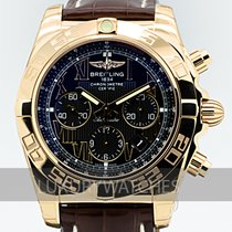 Breitling Chronomat 44 Rose gold 44mm Black