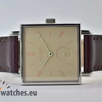 NOMOS Tetra tweedehands 29,5mm Leer