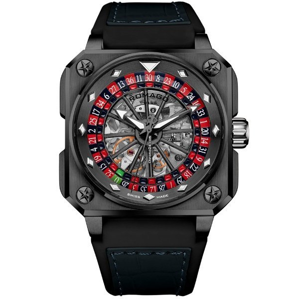 Romago Roulette Master Skeleton Automatic For 2 572 For Sale From