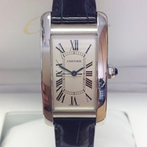 Cartier Tank Américaine new 2019 Automatic Watch with original box and original papers WSTA0017