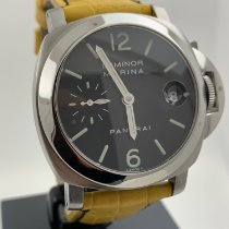 Panerai Luminor Marina Automatic Otel 40mm Negru Arabic
