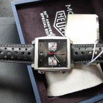 TAG Heuer Monaco nuevo 2019 Automático Cronógrafo Reloj con estuche y documentos originales CAW211Z.FC6470
