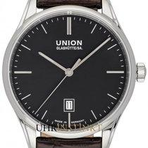 Union Glashütte Steel Automatic Black 41mm new Viro Date