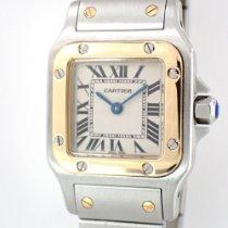 Cartier Santos Galbée Gold/Steel