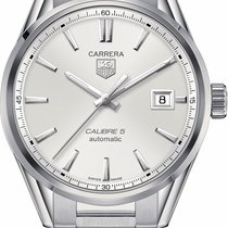 TAG Heuer Carrera Calibre 5 Steel 39mm Silver United States of America, California, Moorpark