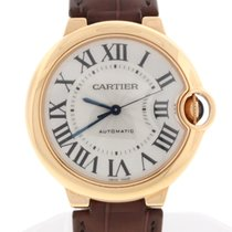 Cartier Ballon Bleu Midsize 36MM Rose Auto Watch,  Box and Papers