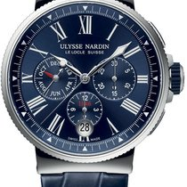 Ulysse Nardin Marine Chronograph 1533-150-43 2016 новые