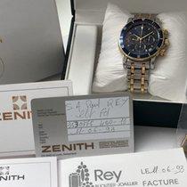 Zenith Full Set Zenith el Primero Rainbow Steel Gold with blue...
