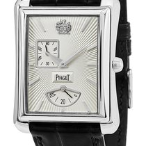 Piaget Emperador White gold 32mm Silver United States of America, New York, Brooklyn