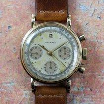 Juvenia Vintage 18kt Gold Chronograph