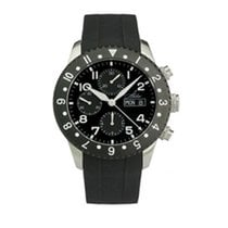 Hacher Steel Automatic Black Arabic numerals 43mm new