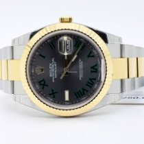 Rolex Datejust Gold/Steel 41mm Roman numerals