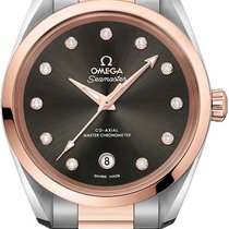 Omega Seamaster Aqua Terra Ocel 38mm Šedá