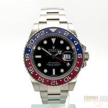 Rolex GMT-Master II 750 Weißgold PEPSI 116719BLRO Top LC100