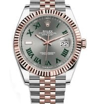 Rolex Datejust II Rolex 126331 Datejust 41mm Steel and Rose Gold  Slate Roman 2020 new