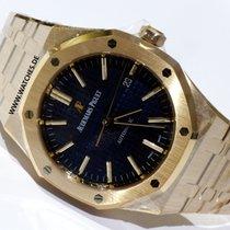 Audemars Piguet Royal Oak Selfwinding Navy Blue Dial -...