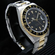 Rolex GMT-Master II Steel and Gold Ref. 16713 Serviced by Rolex