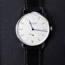 NOMOS Orion Datum Steel 38mm White No numerals