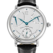 Maurice Lacroix 43mm Manual winding 2011 pre-owned Masterpiece (Submodel) Silver