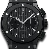 Hublot Classic Fusion Black Magic Chronograph Ceramic Carbon 45mm