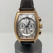 Breguet Rose gold Automatic Silver 42mm pre-owned Héritage
