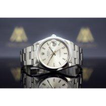 Rolex Oyster Perpetual Date gebraucht 34mm Stahl