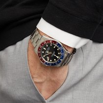 Rolex GMT-Master Pepsi Roestvrij Staal 16750 - W5501