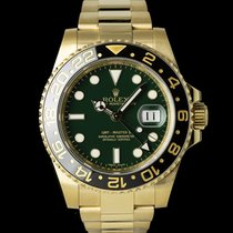 Rolex 116718LN Geelgoud 2014 GMT-Master II 40mm tweedehands