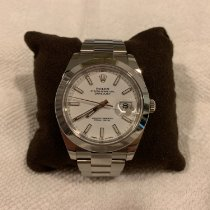 Rolex Datejust II, 41mm, Stainless Steel, White Index