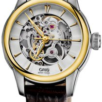 Oris Artelier Skeleton Gold/Steel Silver United States of America, New York, Brooklyn