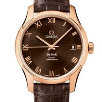 Omega De Ville Co-Axial Red gold Brown