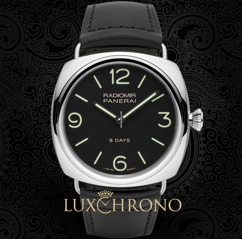 9d9181e6497a Panerai Radiomir Black Seal 8 Days PAM 00610