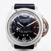 Panerai Luminor 1950 8 Days GMT Steel 44mm Black Arabic numerals Singapore, Singapore
