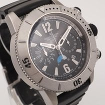 Jaeger-LeCoultre Steel Automatic Black 45mm pre-owned Master Compressor Diving Chronograph