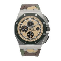 Audemars Piguet Royal Oak Offshore Chronograph Steel 44mm Champagne No numerals United States of America, Pennsylvania, Bala Cynwyd