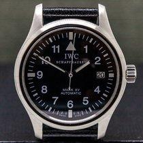 IWC Pilot Mark Steel 37.5mm Black Arabic numerals United States of America, Massachusetts, Boston