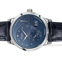 Glashütte Original PanoReserve Steel 40mm Blue No numerals United States of America, Florida, Aventura