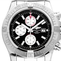 Breitling Super Avenger II new Automatic Chronograph Watch with original box and original papers A13371111B1A1